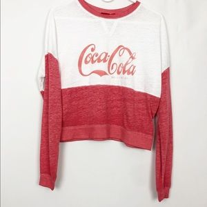 Coca Cola Graphic Burnout Long Sleeve